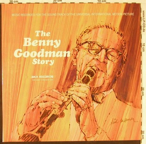 Goodman,Benny: The Benny Goodman Story,Foc,Ri, MCA(250 606-1), D, 1972 - 2LP - E2532 - 7,50 Euro