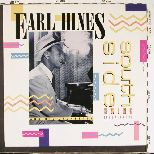 Hines,Earl & His Orch.: South Side Swing, Ri, MCA(251 166-1), D, 1985 - LP - E2695 - 5,00 Euro