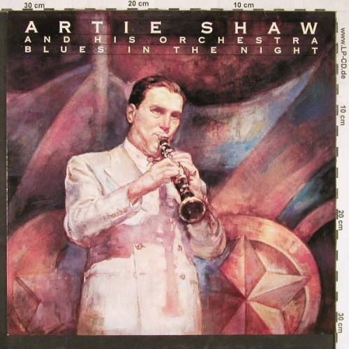 Shaw,Artie & His Orchestra: Blues In The Night, RCA(NL 82432), D, 1990 - LP - E2795 - 5,00 Euro