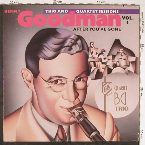 Goodman,Benny: Vol.1, After You've Gone, FS-New, Bluebird(5631-1-RB), US, co, 1987 - LP - E2796 - 7,50 Euro