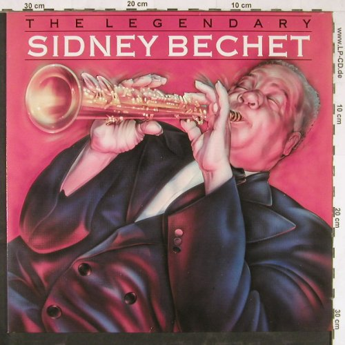 Bechet,Sidney: The Legendary, Bluebird(NL86590), D, 1988 - LP - E3009 - 5,00 Euro