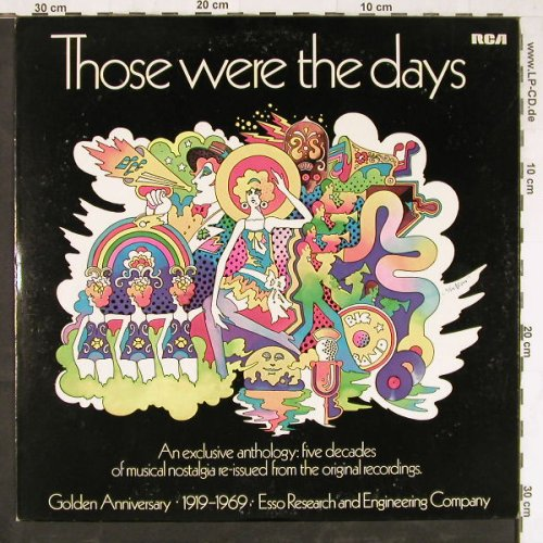V.A.Those Were The Days: Five decades of musical nostalgia.., RCA(PRM-286 C), US, Mono, 1969 - LP - E3658 - 6,00 Euro