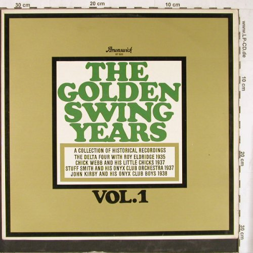 V.A.The Golden Swing Years Vol.1: Delta Four... John Kirby, 15 Tr., Brunswick(87 525), D, 1964 - LP - E4549 - 15,00 Euro