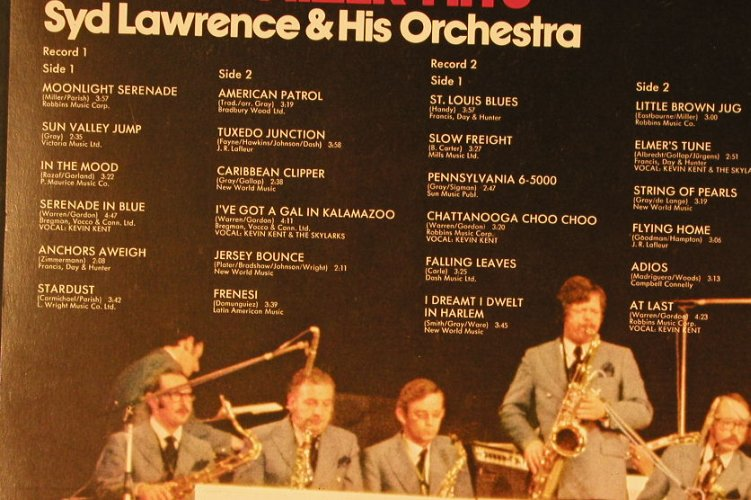 Lawrence,Syd & his Orch.: Glenn Miller Hits,Foc, Philips(6625 004), D,  - 2LP - E4754 - 7,50 Euro