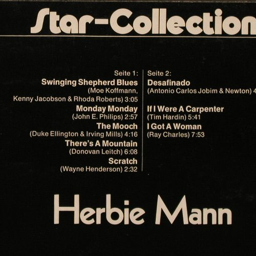 Mann,Herbie: Star-Collection, Midi(MID 20018), D, 1972 - LP - E5220 - 6,00 Euro