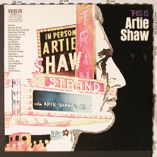Shaw,Artie: This Is A.Shaw Vol.2,Foc, RCA(VPS-6062), D, 1972 - 2LP - E7131 - 7,50 Euro