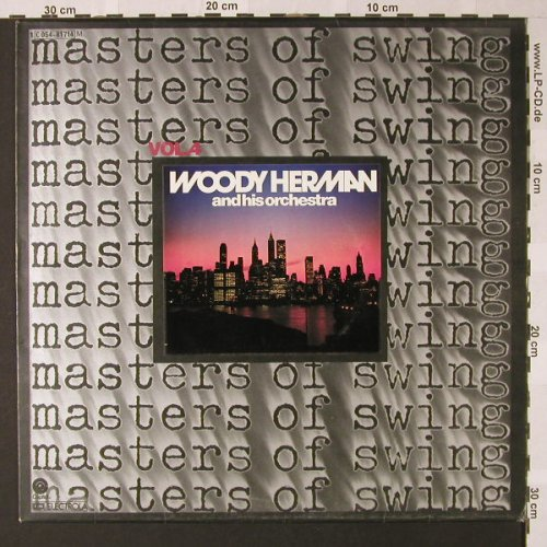 Herman,Woody & his Orchestra: Masters of Swing Vol.4, Capitol(C 054-81714), D,  - LP - E7891 - 5,00 Euro