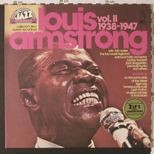 Armstrong,Louis & Orch.: The Collection Vol.II,Foc,1938-47, BYG(6623 951), D,  - 2LP - E8600 - 7,50 Euro