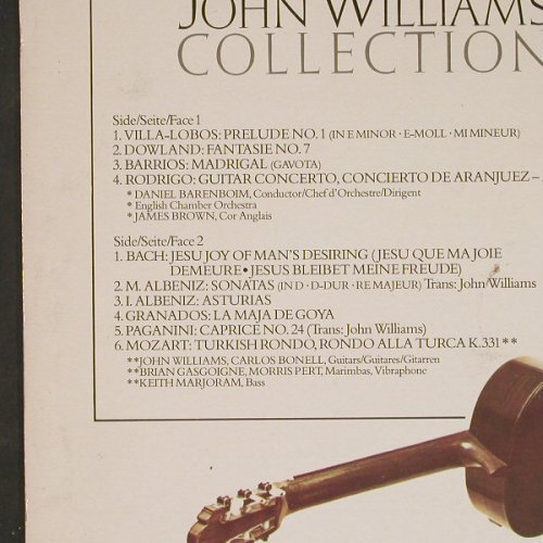 Williams,John: Collection, m-/vg+, CBS(73784), NL, 1978 - LP - E955 - 3,00 Euro