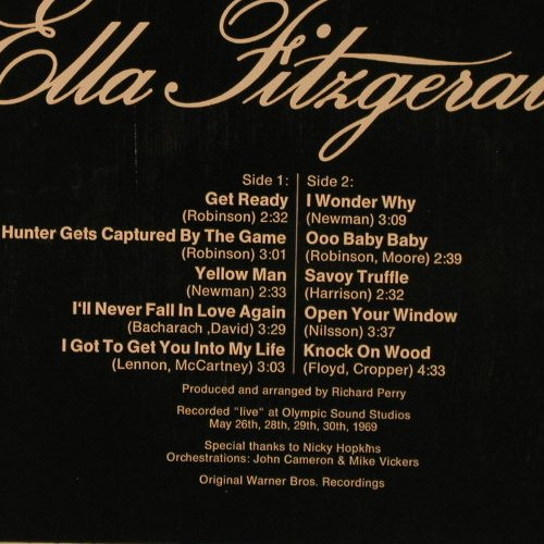Fitzgerald,Ella: Star-Collection, Ri, Midi(MID 24 008), D, 1972 - LP - F2825 - 5,00 Euro