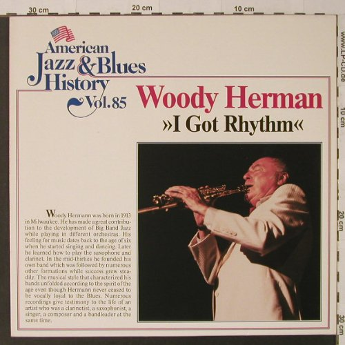 Herman,Woody: I Gor Rhythm, Tobacco Road(B/2585), D,  - LP - F4705 - 5,00 Euro
