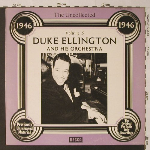 Ellington,Duke: The Uncollected Vol.3, Decca(6.23577 AG), D, 1978 - LP - F5285 - 5,00 Euro