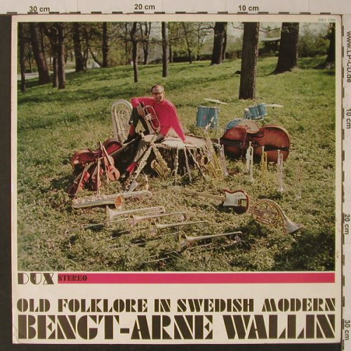 Wallin,Bengt-Arne: Old Folklore In Swedish Modern,Foc, DUX(DRY 1700), S, m-/vg+, 1962 - LP - F5481 - 10,00 Euro