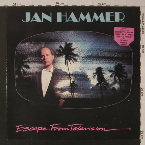 Hammer,Jan: Escape From Television, MCA(255 093-1), D, 1987 - LP - F5514 - 5,00 Euro