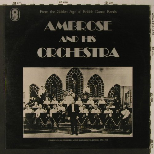 Ambrose and his Orchestra: From t.golden Age of British DanceB, EMI(SHB 211/212), UK,  - 2LP - F5755 - 7,50 Euro