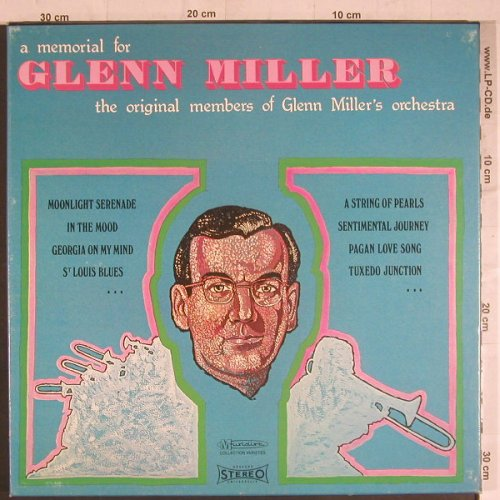 Miller,Glenn: A Memorial for, Box, vg+/vg+, Festival(CCV 2507 4), F,  - 4LP - F6054 - 7,50 Euro