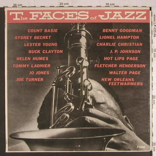 V.A.Faces of Jazz: Count Basie..New OrleansFeetwarmers, Jazztone(J-1248), UK, vg+/m-,  - LP - F6130 - 5,00 Euro