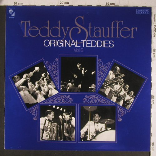 Stauffer's Orig.Teddies,Teddy: Vol.6, Elite Special(SJLP-6332), CH, 1981 - LP - F6490 - 6,00 Euro