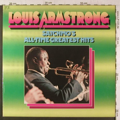 Armstrong,Louis: Satchmos's All-Time Greatest Hits, Historia(TCH 2-761), D, m-/vg+,  - 2LP - F6690 - 5,50 Euro