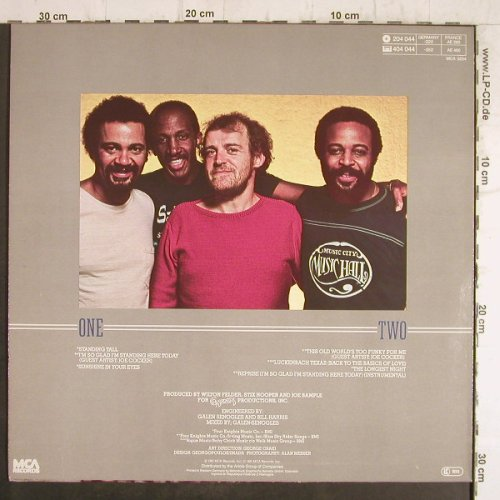 Crusaders: Standing Tall, MCA(204 044), D, 1981 - LP - F8522 - 5,00 Euro