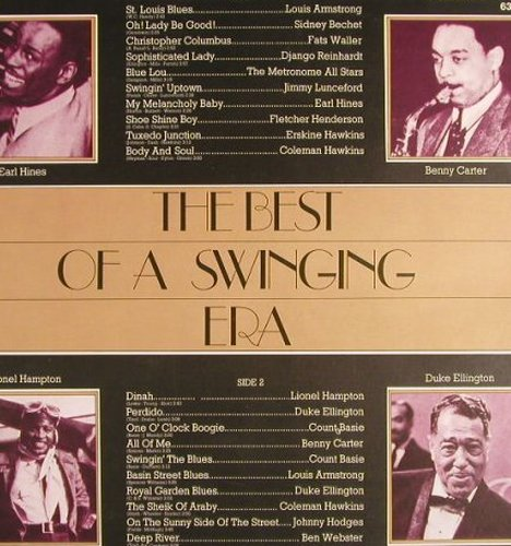 V.A.The Best of a Swinging Era: Armstrong...B.Webster,ClubSonderauf, RCA Victor(63.158), D, 1975 - LP - F8809 - 5,00 Euro