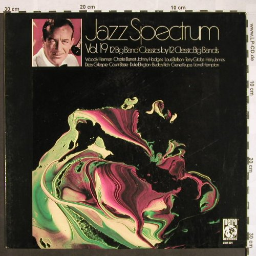 V.A.Jazz Spectrum Vol.19: 12 Big Band Classics by 12.., Metro(2356 022), D,  - LP - F9637 - 6,00 Euro
