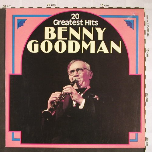 Goodman,Benny: 20 Greatest Hits, Astan(20121), D, 1984 - LP - F9797 - 5,00 Euro