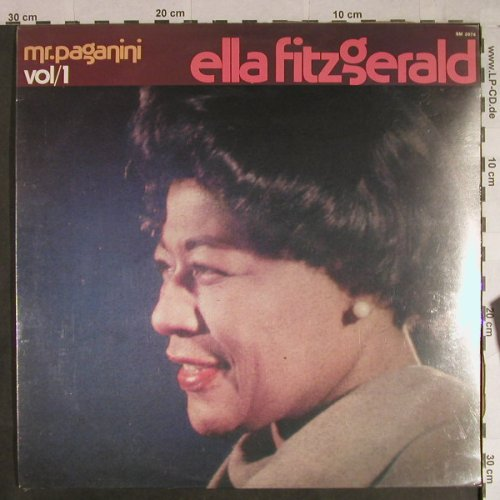 Fitzgerald,Ella: Mr.Paganini - Vol.1, FS-New, Joker(SM 3974), I, 1982 - LP - H1079 - 9,00 Euro