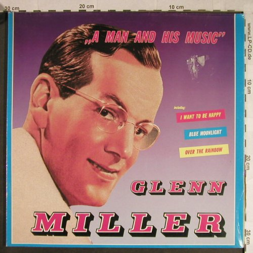 Miller,Glenn: A Man And His Music, Foc, FS-New, (DLP 2-805), D,  - 2LP - H1095 - 7,50 Euro