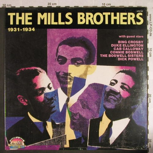Mills Brothers: 1931-1934, FS-New, Giants o.J(LP JT 85), I, 1989 - LP - H1123 - 7,50 Euro