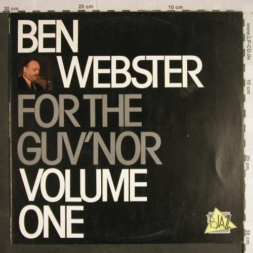 Webster,Ben: For the Guv'nor, Volume 1, Yes to Jazz(10043), P, Ri, 1969 - LP - H1249 - 7,50 Euro