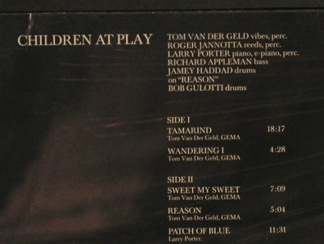 van Der Geld,Tom / Children at Play: Same '73, Japo 60009(2360 009), D, 1975 - LP - H1267 - 9,00 Euro