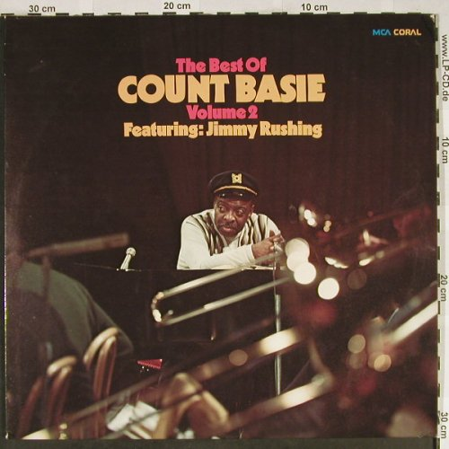 Basie,Count: The Best of, Vol.2 ,f.Jimmy Rushing, Coral(COPS 6596/1-2), D,Foc,stoc, 1973 - 2LP - H1958 - 9,00 Euro