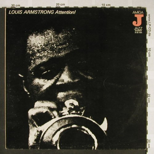 Armstrong,Louis: Attention!, Amiga Jazz(8 55 484), DDR, 1976 - LP - H1976 - 6,00 Euro