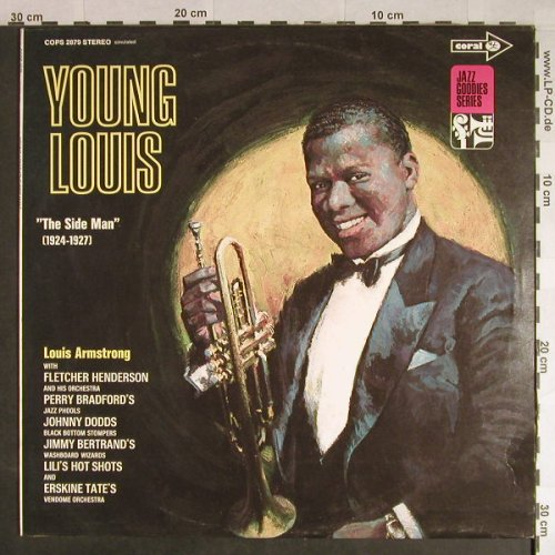 Armstrong,Louis: Young Louis-The side Man 1924-27, Coral,simulated Stereo(COPS 2879), D, Ri, 1977 - LP - H206 - 6,00 Euro