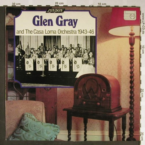 Gray,Glen & Casa Loma Orch.: 1943-46 (20), London(HM-A 5050), UK,  - LP - H2118 - 6,50 Euro