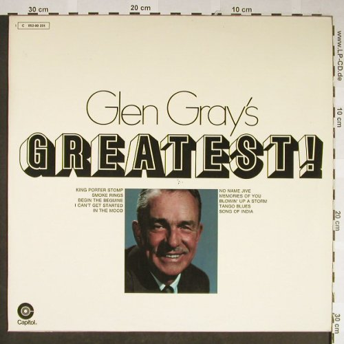 Gray,Glen: Greatest ! (Duophonic), vg+/m-, Capitol(C 052-80 231), D,  - LP - H2120 - 5,00 Euro