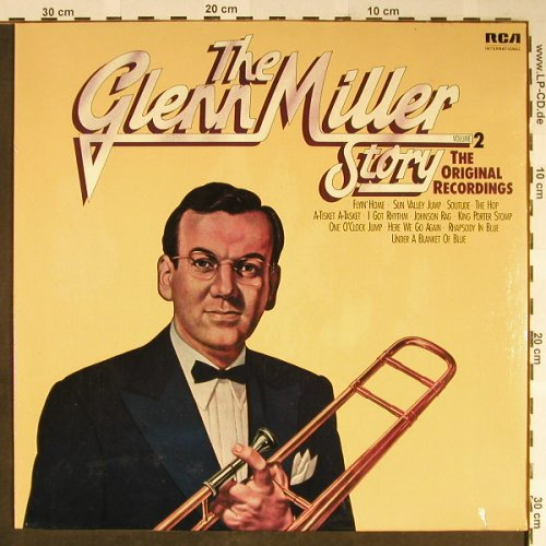 Miller,Glenn: The G.M.Story Vol.2, FS-New, RCA International(NL 89221), D, 1975 - LP - H2178 - 7,50 Euro