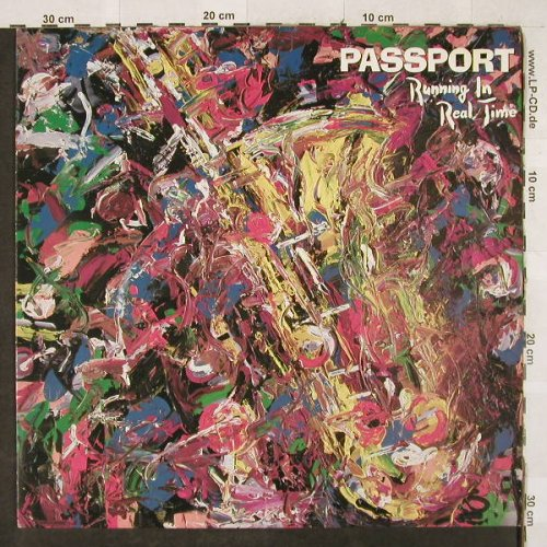 Passport: Running In Real Time, WEA(240 633-1 U), D, 1985 - LP - H3230 - 5,00 Euro