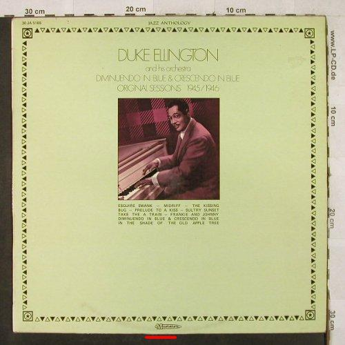 Ellington,Duke & Orch.: Original Session 1945/1946, m-/vg+, Musidisc(30 JA 5165), F, Ri,  - LP - H3493 - 4,00 Euro