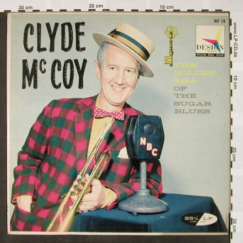McCoy,Clyde: The Golden  Era of the Sugar Blues, Design(DLP 28), US,vg+/vg+,  - LP - H4119 - 5,00 Euro