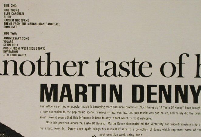 Denny,Martin: Another Taste Of Money!, Liberty(LRP-3277), US,  - LP - H4432 - 7,50 Euro