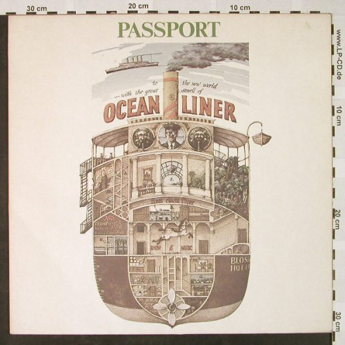 Passport: Ocean Liner, Atlantic(ATL 50 688), D, 1980 - LP - H4622 - 5,50 Euro