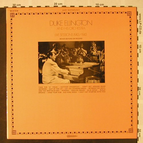 Ellington,Duke: Live Sessions 1943/45, Musidisc(30 JA 5124), F,  - LP - H4682 - 7,50 Euro