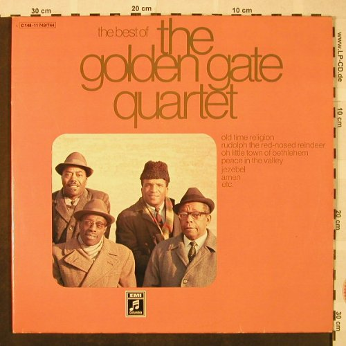 Golden Gate Quartet: The Best Of, Foc, EMI(C 148-11743/744), D,  - 2LP - H4861 - 7,50 Euro