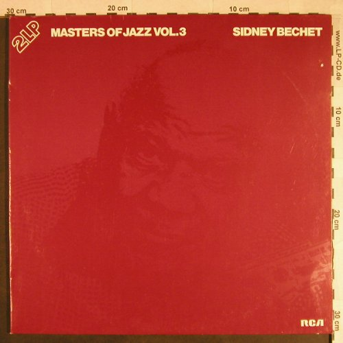 Bechet,Sidney: Masters of Jazz Vol.3, Foc, RCA International(CL 42100), D, 1978 - 2LP - H524 - 7,50 Euro