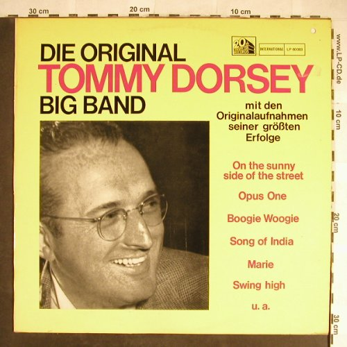 Dorsey,Tommy: Die Original T.D. Big Band, co, 20th Century Fox(LP 60003), D, co,  - LP - H5672 - 5,00 Euro