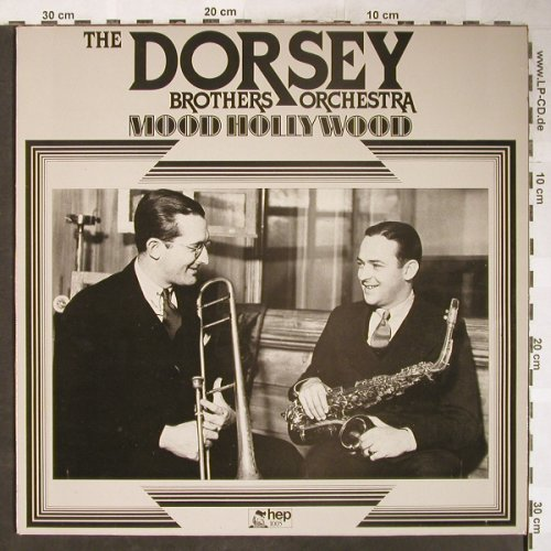 Dorsey Brother Orchester: Mood Hollywood, hep(1005), UK, 1985 - LP - H6109 - 6,00 Euro