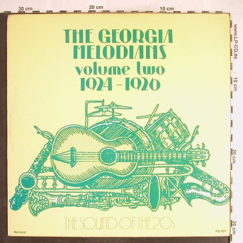 Georgia Melodians: Vol.2 -  1924-1926, Retrieval(FG-405), UK,  - LP - H6229 - 5,00 Euro