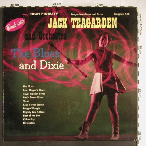 Teagarden,Jack & his Orch.: The Blue and Dixie, VG+/vg+, Rondolette(A18), US,  - LP - H6260 - 3,00 Euro